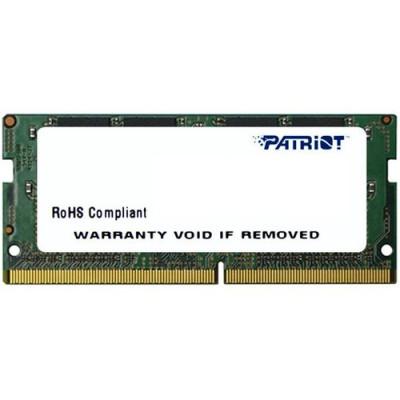 DDR4 x NB SO-DIMM PATRIOT 8GB 2400MHz - PSD48G240081S