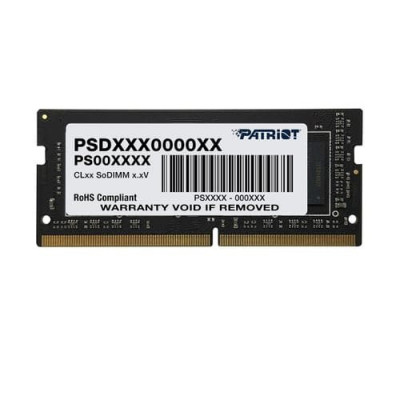 DDR4 x NB SO-DIMM PATRIOT 8GB 3200MHz - PSD48G320081S