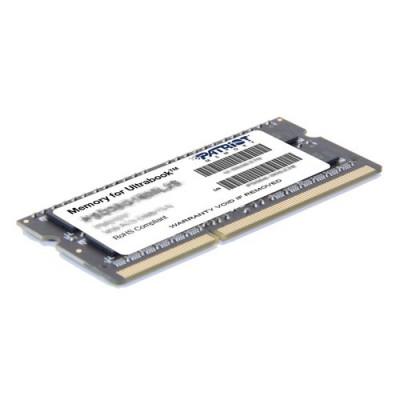 DDR3 x NB SO-DIMM PATRIOT 4GB 1600MHz  - PSD34G1600L2S