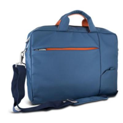 """BORSA x NB ATLANTIS P004-S410-A6-16 da 15.6"""" Modello Sierra, Cinghia a tracolla, tasca porta oggetti e porta documenti, Blu"""