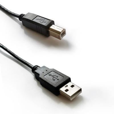 Atlantis cavo USB-2.0 A/B - M/M 3m P019-UB2-ABMM-3