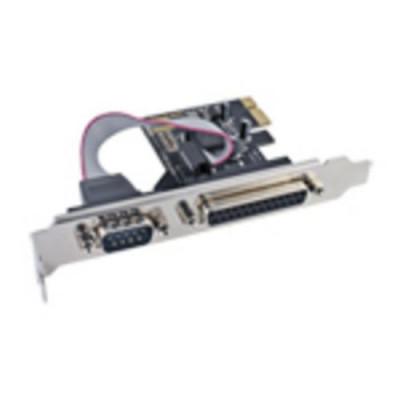 SCHEDA ATLANTIS P007-CPEO1S1P PCI-Express COMBO 1 SERIALE + 1 PARALLELA, Supporta PCI 3,3V e 5V per uso su PC e Server