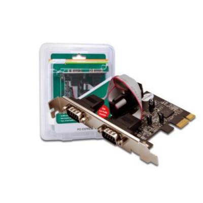 SCHEDA DIGITUS DS30000 PCI EXPRESS CON 2 PORTE SERIALI 9 POLI