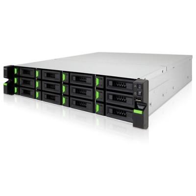 QSAN Rackmount 2U12 12HDD with Intel Core i3 3.9GHz Dual-Core CPU, 8GB DDR4 RAM 2x250w - XN7012RE