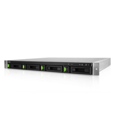 QSAN Rackmount 1U4 4HDD with Intel Atom Dual-Core CPU, 4GB DDR4 RAM  Power 200w - XN3004R