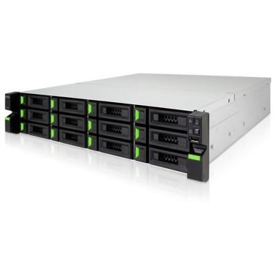 Origin Storage QSAN 5 Series 2U Rackmount 12 Bay 3.5in NAS System Excluding Additional SFF Rear Bays