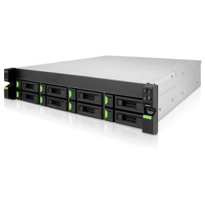 QSAN Rackmount 2U8 8HDD with Intel Celeron 2.9 GHz Dual-Core CPU, 8GB DDR4 RAM 2x250w - XN5008RE