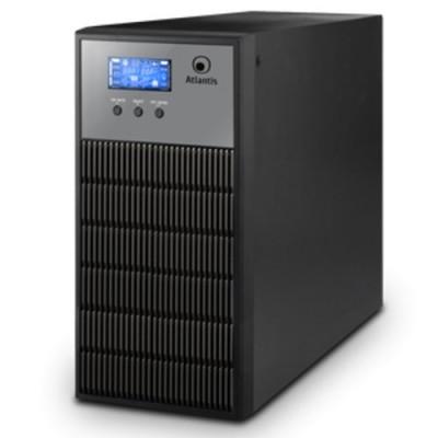 UPS ATLANTIS A03-OP3451 3450VA (2400W) LinePower Technology 6 Batterie,interfaccia USB,Display LCD,Uscite 4 IEC e Terminal Block