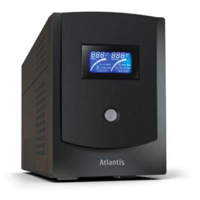UPS ATLANTIS A03-HP2202 2200VA (1100W) Host Power Sinewave Line Interactive Technology con AVR Boost e Buck