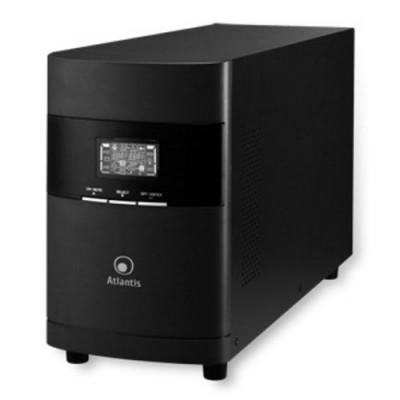 UPS ATLANTIS A03-OP2301 2300VA (1600W) LinePower Technology onda sinusoid 4Batterie interfaccia USB, Display LCD, Uscite: 4 IEC