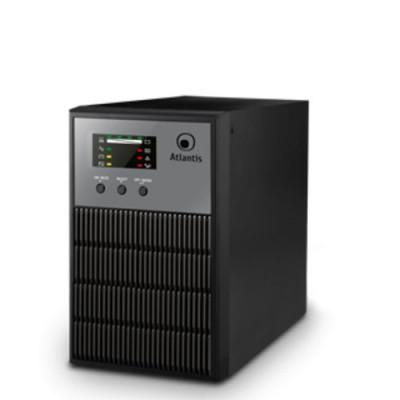 UPS ATLANTIS A03-OP1001 Server Online 1000VA (700W) Line Power 1001, Tower, doppia batteria, USB e RS232,3 IEC