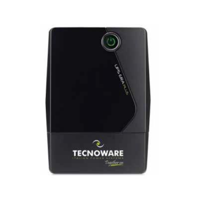 UPS TECNOWARE ERA PLUS 1200 1200VA/840W Tecnologia LineInteractive con stabiliz ondaPseudosinusoidale Schuko USB FGCERAPL1202SCH