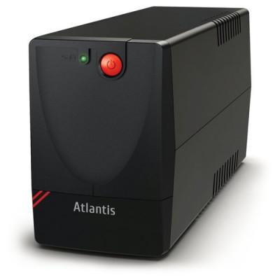 UPS ATLANTIS A03-X1000 750VA (375W) One Power Stepwave Line Interactive AVR (3 step) 2xSchuko