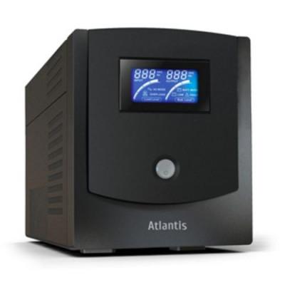 UPS ATLANTIS A03-HP1102 1100VA (550W) Host Power Sinewave Line Interactive con AVR Boost e Buck,Software Viewpower incluso
