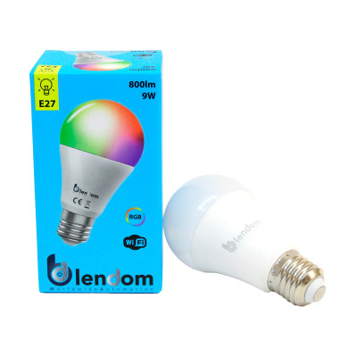 smart light bulb connected to the internet (alexa and Google assistent)