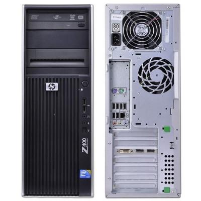 WORKSTATION HP REFURBISHED Z400 RA67022002 TOWER XEON W35X0 8GB SSD240GB nVidia Quadro K600 DVD W10P (UPG)