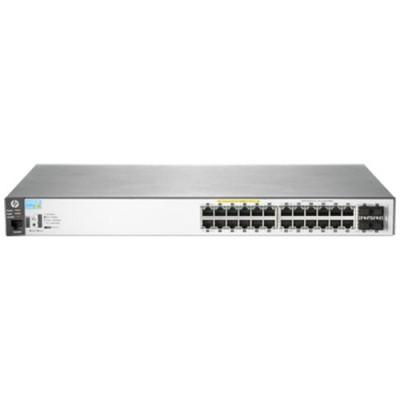 SWITCH HP Aruba 2530-24G-PoE+ Switch Managed 24 x RJ45 autosensing 10/100/1000 POE+ ports 4 x SFP 1000 ports - J9773A