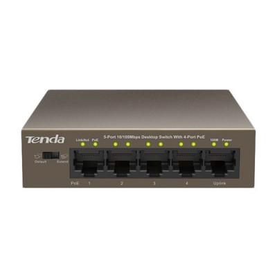SWITCH TENDA TEF1105P-4-63W 5P LAN DESKTOP 10/100M 4P POE