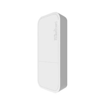 ACCESS POINT MIKROTIK RBwAP2nD wAP 650MHzCPU,64MB RAM,1LAN,built-in2.4Ghz 802.11b/g/n2Chain wireless antenna RouterOS L4 PSU POE