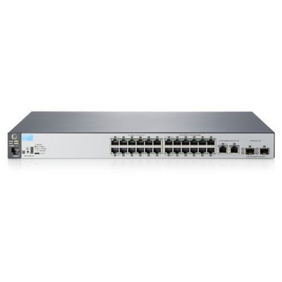 SWITCH HP ARUBA 2530-24 MANAGED 24XRJ45 AUTOS. 10/100 PORTS 2XSFP 1000 PORTS 2XRJ45 AUTOS. 10/100/1000 PORTS - J9782A