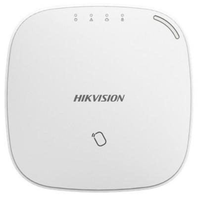 CENTRALE RADIO HIKVISION AXIOM HUB 3G/4G BIANCA bidirezionale RF 868MHz/800M, 32 ingressi, 8 telecomandi, 2 sirene, LAN+WIFI