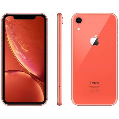 iPhone XR 64GB Coral - Grade A - Refurbished 1Year Warranty