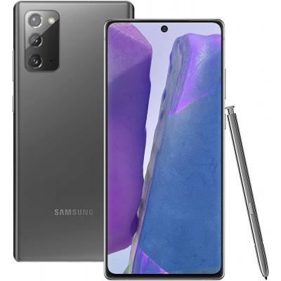 Samsung Galaxy Note 20 256GB Mystic Gray Grade A - Refurbished 1Year Warranty