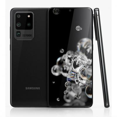 Samsung Galaxy S20 Ultra 5G 128GB Black Grade A+ Refurbished 1Year Warranty