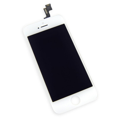 iPhone 5s (Compatible) LCD and Digitizer White