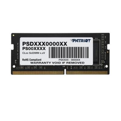 DDR4 x NB SO-DIMM PATRIOT 4GB 2666MHz - PSD44G266681S