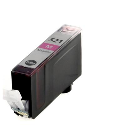 Cartridge compatible with Canon CLI-521 Magenta