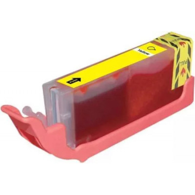 Cartridge compatible with Canon CLI-551 XL Yellow