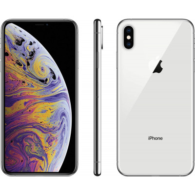 iPhone XS 64GB Silver - Grade A - Refurbished 1Year Warranty