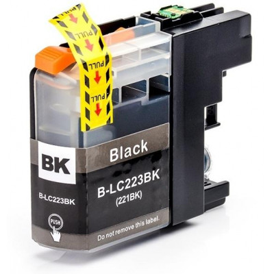 Cartridge compatible with Brother LC-223 Black