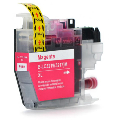 Cartridge compatible with Brother LC-3219 XL Magenta