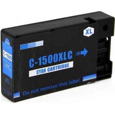 Cartridge compatible with Canon PGI-1500XL Cyan
