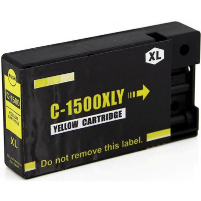 Cartridge compatible with Canon PGI-1500XL Yellow