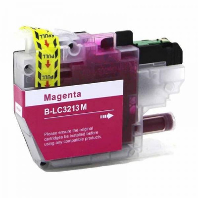 Cartridge compatible with Brother LC-3213 XL Magenta