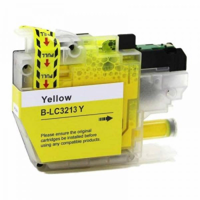 Cartridge compatible with Brother LC-3213 XL Yellow