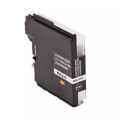Cartridge compatible with Brother LC-980/1100 Black