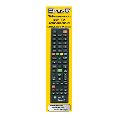 BRAVO Programmable Remote Control (FOR PANASONIC TELEVISIONS)