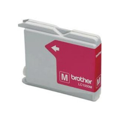 Cartridge compatible with Brother LC-970/1000 Magenta