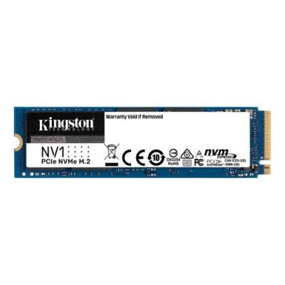 SSD KINGSTON M.2(2280)  1TB NVME SNVS/1000G PCIE3.0X4 READ:2100MB/S-WRITE:1700MB/S