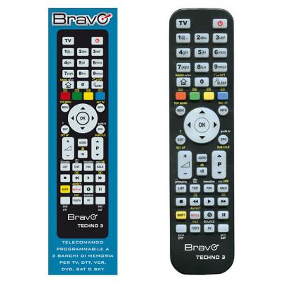 BRAVO Programmable Remote Control TV - DVD/VCR/DTT - SAT