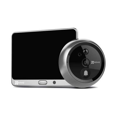 EZVIZ Doorbell with spycam incorporated,External 4,3\'\' display  - Wifi and Audio