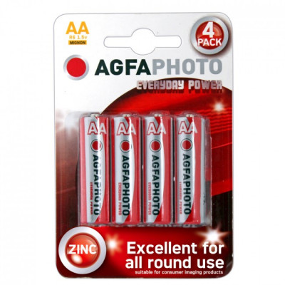 Agfa AA Batteries - Pack of 4