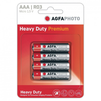 Agfa AAA Batteries - Pack of 4