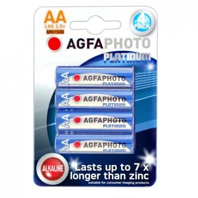 Agfa Alkaline AA Batteries - Pack of 4