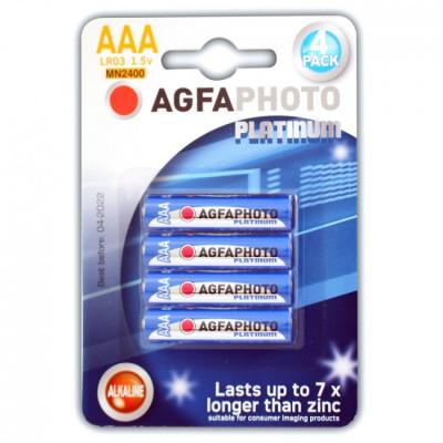 Agfa Alkaline AAA Batteries - Pack of 4