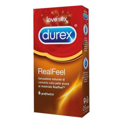 Durex Real Feel Condoms x6